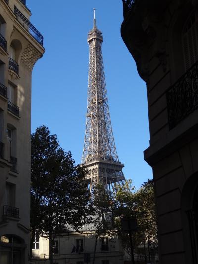 パリ アパルトマン滞在記(7) アールヌーヴォー建築(ラヴィロット)、トロカデロ庭園