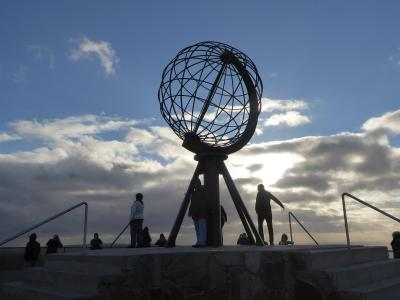 ヨーロッパ大陸最北端岬のノールカップからアルタ経由でトロムソへ