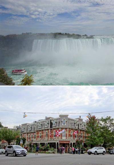 カナダ建国150周年の年に、メープル街道を満喫するはずが…その⑤:ナイアガラの滝の音はホテルに響き渡る~