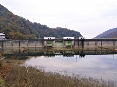 花貫ダム(茨城県高萩市)へ紅葉を見に行ってきました・・・