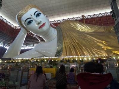 神秘の国ミャンマーで遺跡巡りの旅 その4-1 〜 ヤンゴンの黄金のパゴダと巨大仏像に圧倒される! 〜