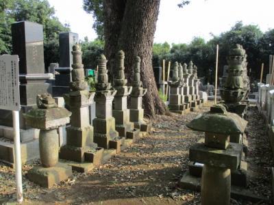 武蔵久喜 徳川十六神将の一人と称された内藤正成を初代とする旗本内藤家菩提寺の善宗寺散歩