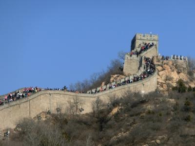 ぐーたらにゃんこの海外旅行記:中国北京編~その2:万里の長城