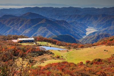 紅葉の吾妻山