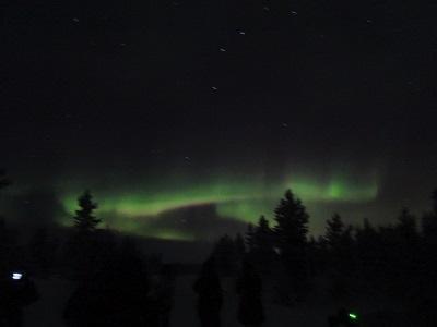 年末年始 おひとり様、オーロラを見に北欧へ オーロラ編
