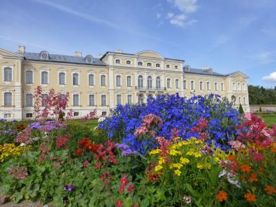 2017 バルト三国をめぐる旅 6 バルトのベルサイユ、ルンダーレ宮殿