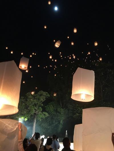 スコータイ・チェンマイ 2つのロイクラトン祭りの旅