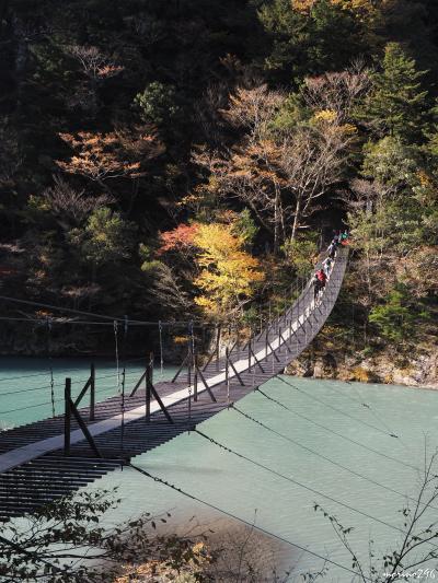 秋深まる奥大井の旅:(1日目)寸又峡・夢の吊橋と美女づくりの湯