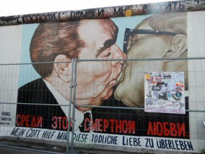 2017GW 初の東ドイツ~プラハ 【24】ベルリン2日め イーストサイドギャラリー