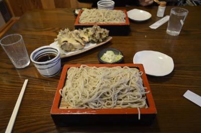 草津温泉湯畑近くの拍香亭の日本蕎麦おいしいよ。