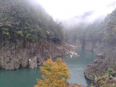 深秋の吉野・十津川村 熊野古道と瀞峡と不思議なお爺さん達