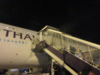 タイ国際航空 ビジネスクラス チェンマイから羽田
