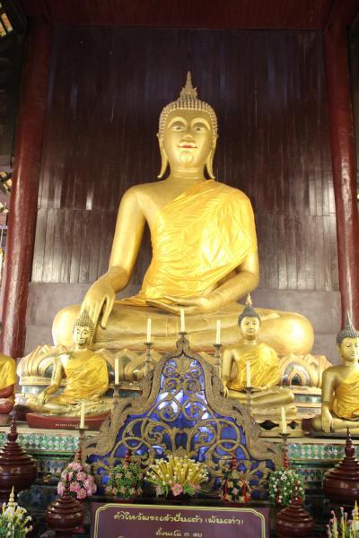 はじめてのチェンマイ 3日目 寺院めぐり⑤ ワット パンタオ
