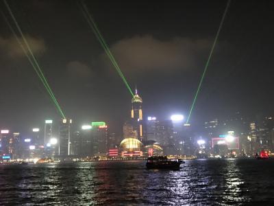 インターコンチネンタル香港に泊まる香港2泊3日② ヴィクトリア・ピークとシンフォニー・オブ・ライツ