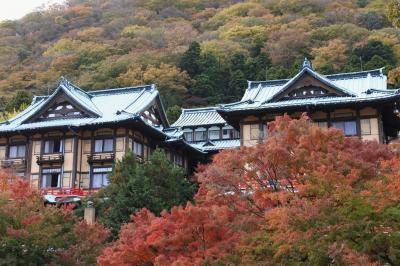 富士屋ホテルの紅葉(花御殿・11月17日)
