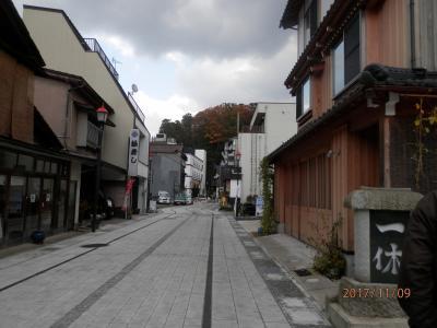 9木曜1午前粟津温泉の街歩き