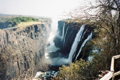 1995年、まだ平和だったジンバブエにビクトリアの滝を見に行った②(バンジージャンプと国境の橋)