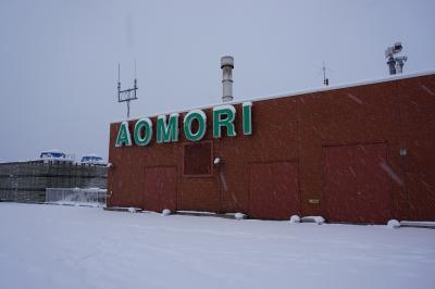 リゾートしらかみで行く五能線の旅。後半 青森編。念願の不老ふ死温泉と11月なのに雪景色。