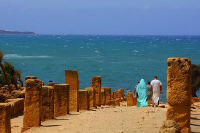 2017アルジェリアで夏休み その4地中海のティパサ遺跡