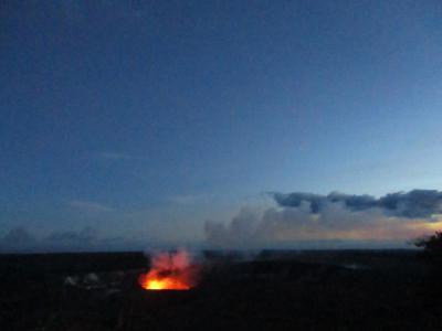 ある意味最強の友人(?)到着→キラウエアの炎に感動@ハワイ島だけ8泊9日(3)