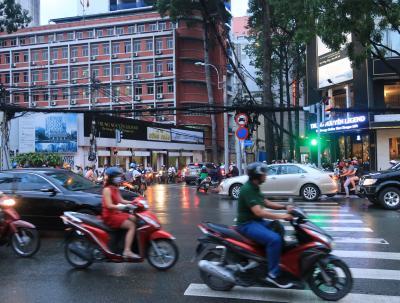 【ベトナム】ベトナムでの正しいバイクの乗り方、阿吽の呼吸