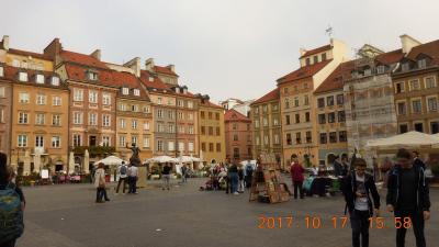 黄金のポーランドと東スロバキアを巡る 18 17日目 ワルシャワ滞在