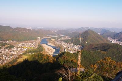 岐阜城からの眺望と飛騨牛の美味