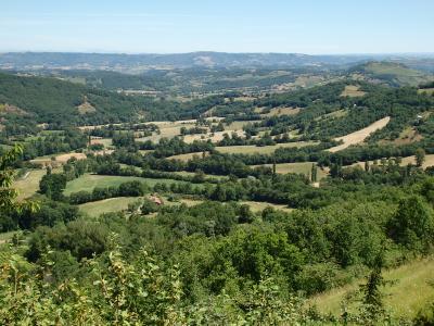 フランス南半分の旅 【11】 コンク村を後にベルカステル村へ
