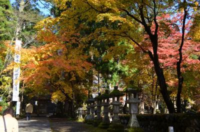 華厳寺と横蔵寺で紅葉と御朱印巡りの旅