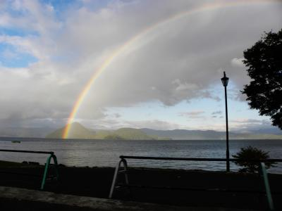 北の静かな湖を訪ねて、洞爺湖~登別~白老~支笏湖へ!