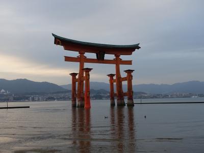 新幹線で行く安芸の宮島旅行 1