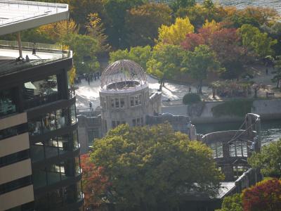 2017年秋の旅行 お泊りはリーガロイヤル広島で3泊します
