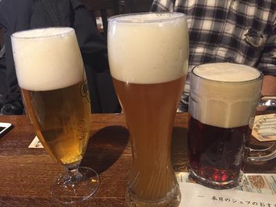 横浜経由 紅葉の北海道!11 小樽の地ビール飲み放題と 北大のイチョウのトンネル