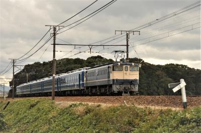 SL北びわこ号用12系客車送り込み回送 2017年11月4日