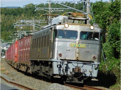 2017貨物列車撮影に向けてEF81-303で練習!だがしかし不可!