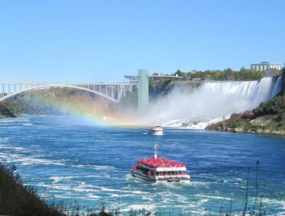 夢のメープル街道への旅【4】 -- カナダへ初入国★ナイアガラの滝~メープル街道の入り口で轟音の歓迎~ --