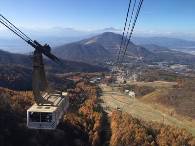 《1泊2日》秋の家族旅行~渋温泉、志賀高原、小布施~