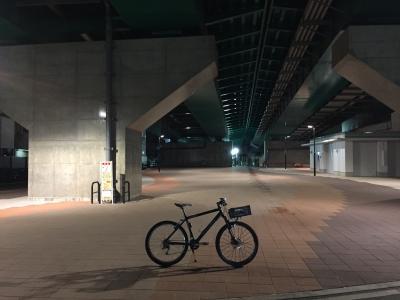 2017年11月23日 東京夜サイクリング 中野