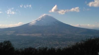 明神ヶ岳から金時山を歩く