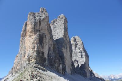 今年の夏は、イタリア北部+αの旅(ドロミティ 東側)