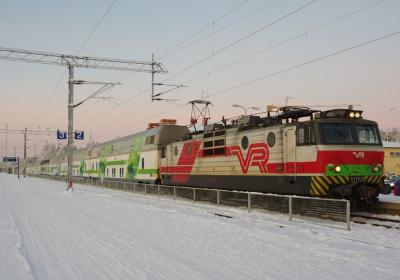 個人旅行フィンランドとちょっとロシアへ③ サンタクロースエクスプレスでロヴァニエミへ