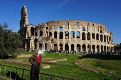 憧れのローマ観光