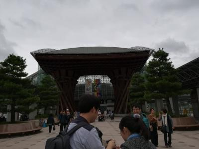 初めての金沢旅行