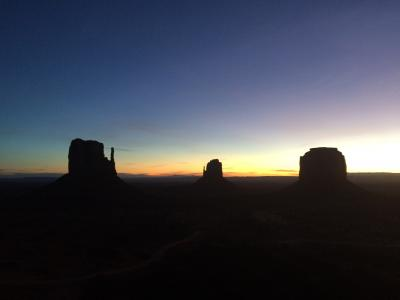 Thanksgiving at Monument Valley
