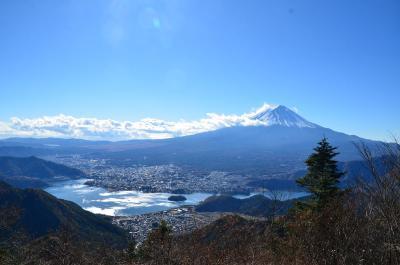 山梨県・富士五湖方面へ =2.西湖&新道峠=2017.11.19