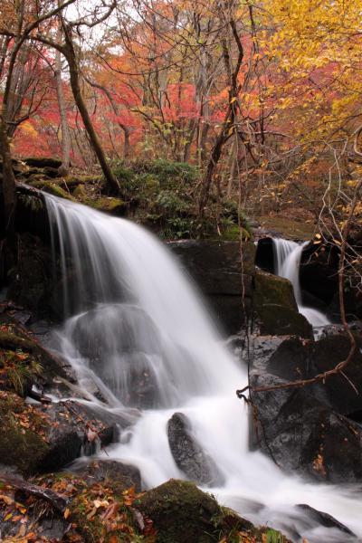 ◆みちのく最南端・名残り紅葉の滝川渓谷 、2017、Part2