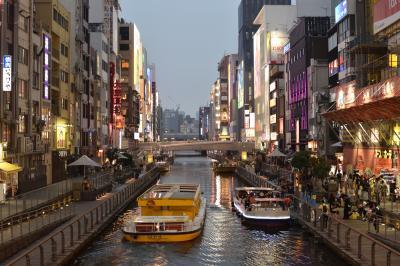 2017年 大阪方面への旅 1日目 道頓堀