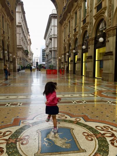 5歳7歳子連れ北イタリアとサンマリノ1 ミラノ編