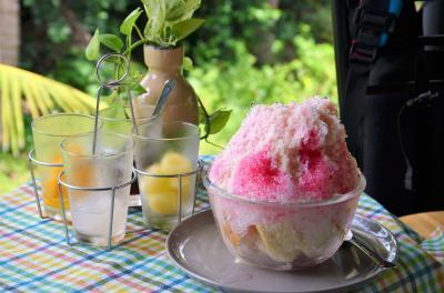 バンコク 続「バーンガジャオ」 オサレな森のカフェではアメージングなかき氷を喰らふ オッサンネコの一人旅