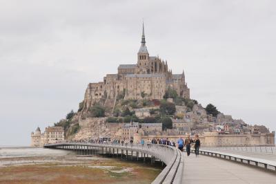 フランス 美しい街並みと世界遺産を訪ねて(16)念願のモンサンミッシェル 1日目